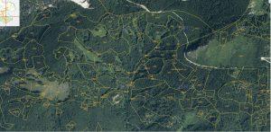 Pranzlgraben mit Grundstücksplan 2014